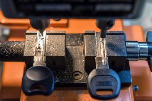 keys on a machine